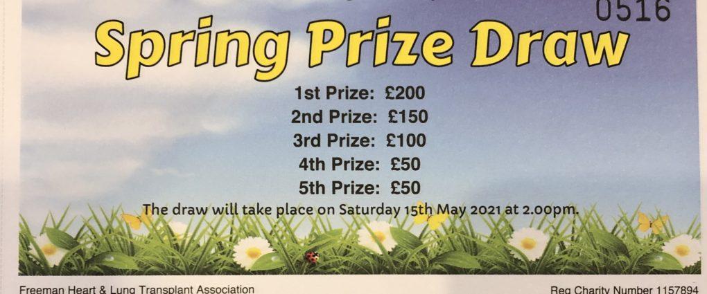 FHLTA Spring Prize Draw